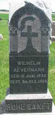 AEVERMANN, WILHELM - Dixon County, Nebraska   WILHELM AEVERMANN - Nebraska Gravestone Photos