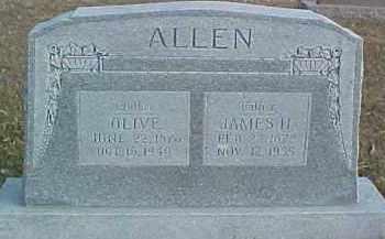 ALLEN, JAMES H. - Dixon County, Nebraska | JAMES H. ALLEN - Nebraska Gravestone Photos