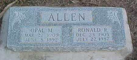 ALLEN, OPAL M. - Dixon County, Nebraska | OPAL M. ALLEN - Nebraska Gravestone Photos