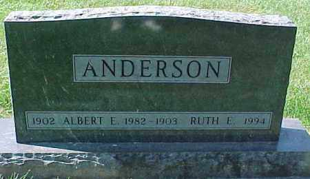ANDERSON, RUTH E - Dixon County, Nebraska   RUTH E ANDERSON - Nebraska Gravestone Photos