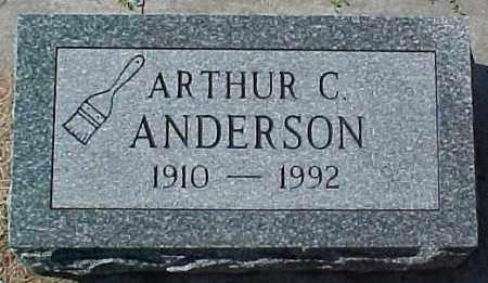ANDERSON, ARTHUR C - Dixon County, Nebraska   ARTHUR C ANDERSON - Nebraska Gravestone Photos