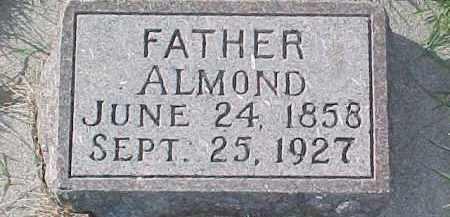 ANDERSON, ALMOND - Dixon County, Nebraska | ALMOND ANDERSON - Nebraska Gravestone Photos