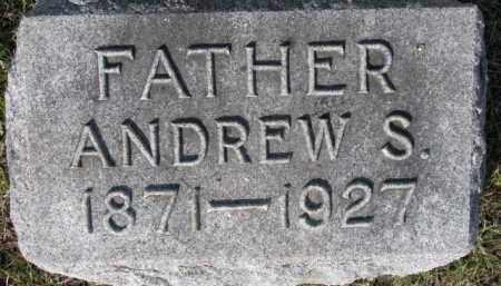 ANDERSON, ANDREW S. - Dixon County, Nebraska | ANDREW S. ANDERSON - Nebraska Gravestone Photos