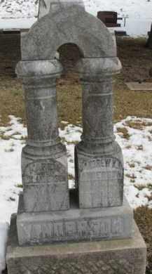ANDERSON, ANDREW K. - Dixon County, Nebraska | ANDREW K. ANDERSON - Nebraska Gravestone Photos