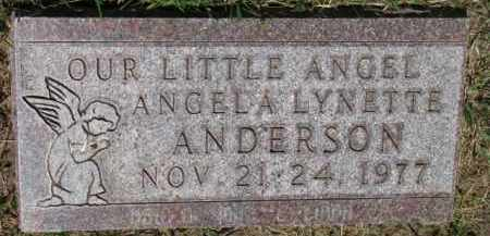 ANDERSON, ANGELA LYNETTE - Dixon County, Nebraska   ANGELA LYNETTE ANDERSON - Nebraska Gravestone Photos