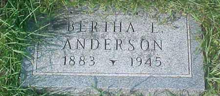 ANDERSON, BERTHA L. - Dixon County, Nebraska | BERTHA L. ANDERSON - Nebraska Gravestone Photos