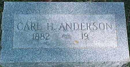 ANDERSON, CARL H. - Dixon County, Nebraska | CARL H. ANDERSON - Nebraska Gravestone Photos