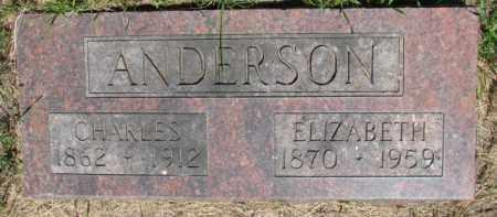 ANDERSON, CHARLES - Dixon County, Nebraska | CHARLES ANDERSON - Nebraska Gravestone Photos