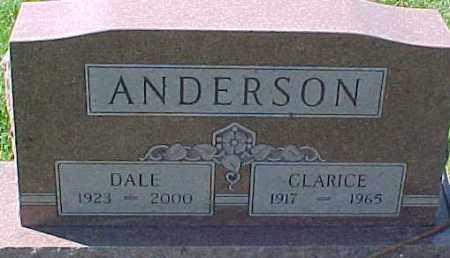 ANDERSON, CLARICE - Dixon County, Nebraska | CLARICE ANDERSON - Nebraska Gravestone Photos