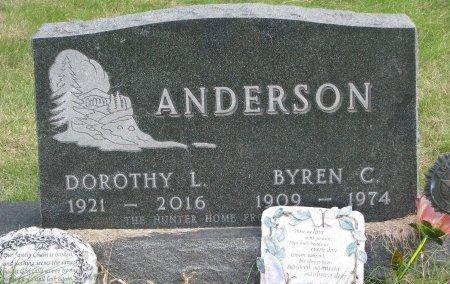 ANDERSON, DOROTHY L. - Dixon County, Nebraska | DOROTHY L. ANDERSON - Nebraska Gravestone Photos