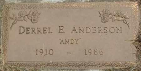 "ANDERSON, DERREL E. ""ANDY"" - Dixon County, Nebraska | DERREL E. ""ANDY"" ANDERSON - Nebraska Gravestone Photos"