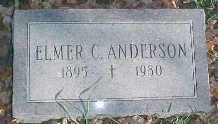ANDERSON, ELMER C. - Dixon County, Nebraska | ELMER C. ANDERSON - Nebraska Gravestone Photos