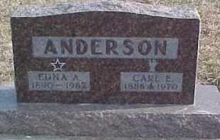 ANDERSON, EDNA A. - Dixon County, Nebraska | EDNA A. ANDERSON - Nebraska Gravestone Photos