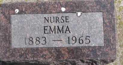 ANDERSON, EMMA A. - Dixon County, Nebraska | EMMA A. ANDERSON - Nebraska Gravestone Photos