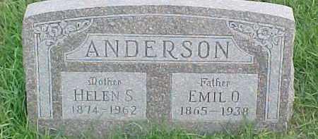 ANDERSON, EMIL O. - Dixon County, Nebraska | EMIL O. ANDERSON - Nebraska Gravestone Photos
