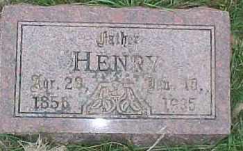 ANDERSON, HENRY - Dixon County, Nebraska | HENRY ANDERSON - Nebraska Gravestone Photos