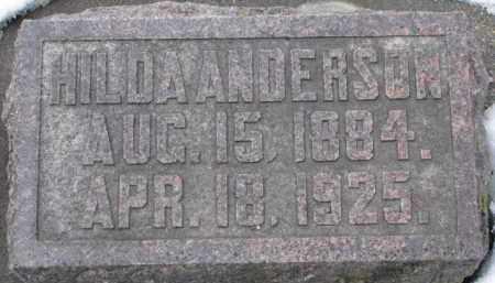 ANDERSON, HILDA - Dixon County, Nebraska | HILDA ANDERSON - Nebraska Gravestone Photos