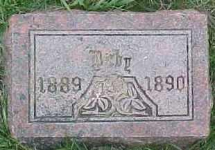 ANDERSON, INFANT - Dixon County, Nebraska | INFANT ANDERSON - Nebraska Gravestone Photos