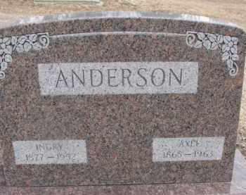 ANDERSON, AXEL - Dixon County, Nebraska   AXEL ANDERSON - Nebraska Gravestone Photos
