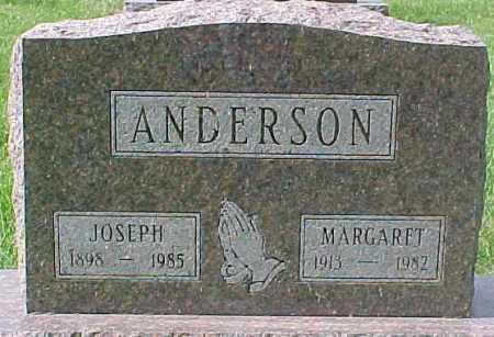 ANDERSON, JOSEPH - Dixon County, Nebraska | JOSEPH ANDERSON - Nebraska Gravestone Photos