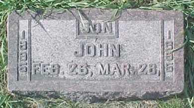 ANDERSON, JOHN A. - Dixon County, Nebraska | JOHN A. ANDERSON - Nebraska Gravestone Photos