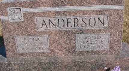 ANDERSON, LALIE E. - Dixon County, Nebraska | LALIE E. ANDERSON - Nebraska Gravestone Photos