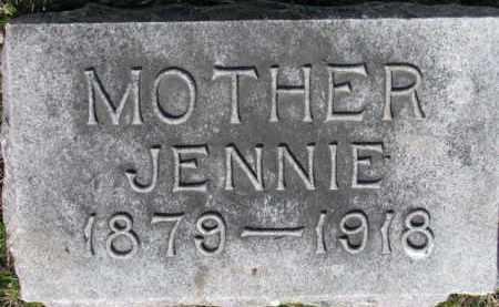 ANDERSON, JENNIE - Dixon County, Nebraska | JENNIE ANDERSON - Nebraska Gravestone Photos