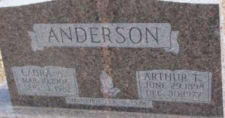 ANDERSON, LAURA A. - Dixon County, Nebraska | LAURA A. ANDERSON - Nebraska Gravestone Photos
