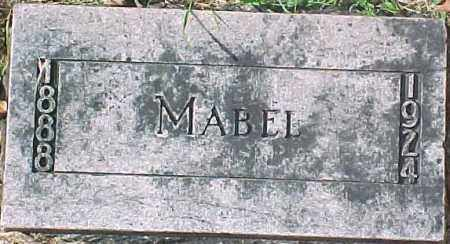 ANDERSON, MABEL - Dixon County, Nebraska | MABEL ANDERSON - Nebraska Gravestone Photos