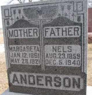TRUDSON ANDERSON, MARGARETA - Dixon County, Nebraska | MARGARETA TRUDSON ANDERSON - Nebraska Gravestone Photos