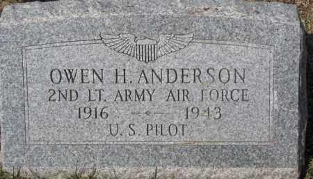 ANDERSON, OWEN H. - Dixon County, Nebraska | OWEN H. ANDERSON - Nebraska Gravestone Photos
