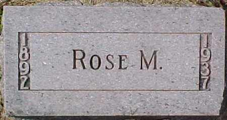 ANDERSON, ROSE M. - Dixon County, Nebraska | ROSE M. ANDERSON - Nebraska Gravestone Photos