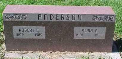 ANDERSON, ROBERT E. - Dixon County, Nebraska | ROBERT E. ANDERSON - Nebraska Gravestone Photos