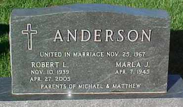 ANDERSON, MARLA J. - Dixon County, Nebraska | MARLA J. ANDERSON - Nebraska Gravestone Photos