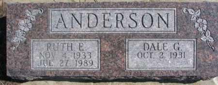 ANDERSON, RUTH E. - Dixon County, Nebraska | RUTH E. ANDERSON - Nebraska Gravestone Photos