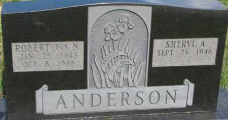 ANDERSON, SHERYL A. - Dixon County, Nebraska | SHERYL A. ANDERSON - Nebraska Gravestone Photos