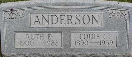 ANDERSON, LOUIE C. - Dixon County, Nebraska | LOUIE C. ANDERSON - Nebraska Gravestone Photos