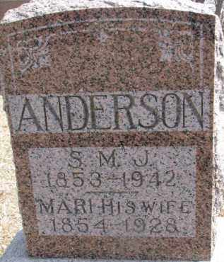 ANDERSON, MARI - Dixon County, Nebraska   MARI ANDERSON - Nebraska Gravestone Photos