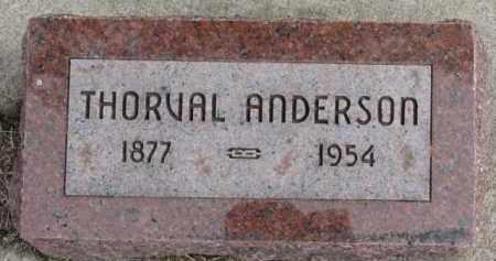 ANDERSON, THORVAL - Dixon County, Nebraska | THORVAL ANDERSON - Nebraska Gravestone Photos