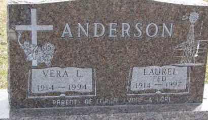 "ANDERSON, LAUREL ""FED"" - Dixon County, Nebraska | LAUREL ""FED"" ANDERSON - Nebraska Gravestone Photos"