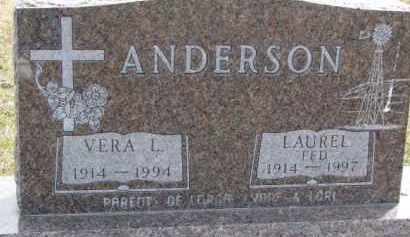 "ANDERSON, LAUREL ""FED"" - Dixon County, Nebraska 