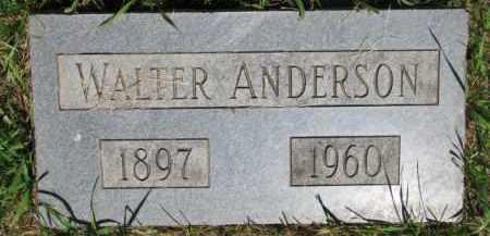 ANDERSON, WALTER - Dixon County, Nebraska   WALTER ANDERSON - Nebraska Gravestone Photos