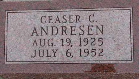 ANDRESEN, CEASER C. - Dixon County, Nebraska | CEASER C. ANDRESEN - Nebraska Gravestone Photos