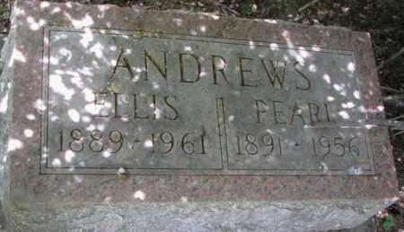 ANDREWS, PEARL - Dixon County, Nebraska   PEARL ANDREWS - Nebraska Gravestone Photos