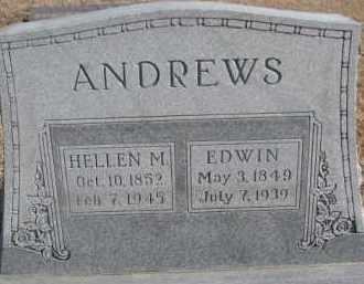 ANDREWS, HELLEN M. - Dixon County, Nebraska   HELLEN M. ANDREWS - Nebraska Gravestone Photos