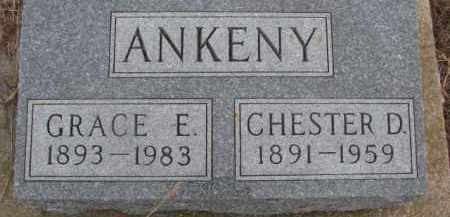 ANKENY, CHESTER D. - Dixon County, Nebraska | CHESTER D. ANKENY - Nebraska Gravestone Photos