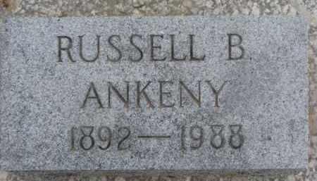ANKENY, RUSSELL B. - Dixon County, Nebraska | RUSSELL B. ANKENY - Nebraska Gravestone Photos