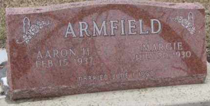 ARMFIELD, AARON H. - Dixon County, Nebraska | AARON H. ARMFIELD - Nebraska Gravestone Photos