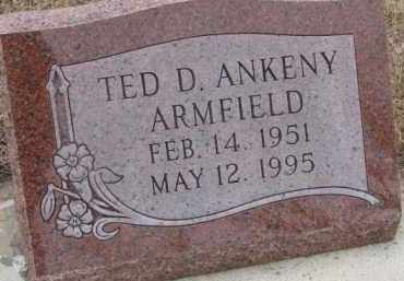 ARMFIELD, TED D. - Dixon County, Nebraska | TED D. ARMFIELD - Nebraska Gravestone Photos