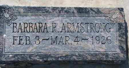 ARMSTRONG, BARBARA R. - Dixon County, Nebraska   BARBARA R. ARMSTRONG - Nebraska Gravestone Photos